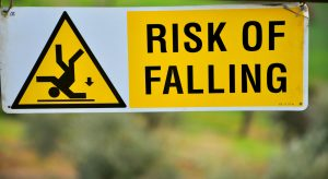 Life comes with a risk of falling